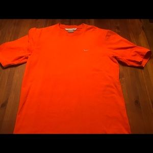 Nike boys orange shirt - small